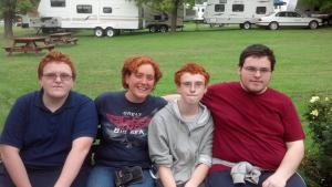 Gideon, Me, Micah, and Caleb