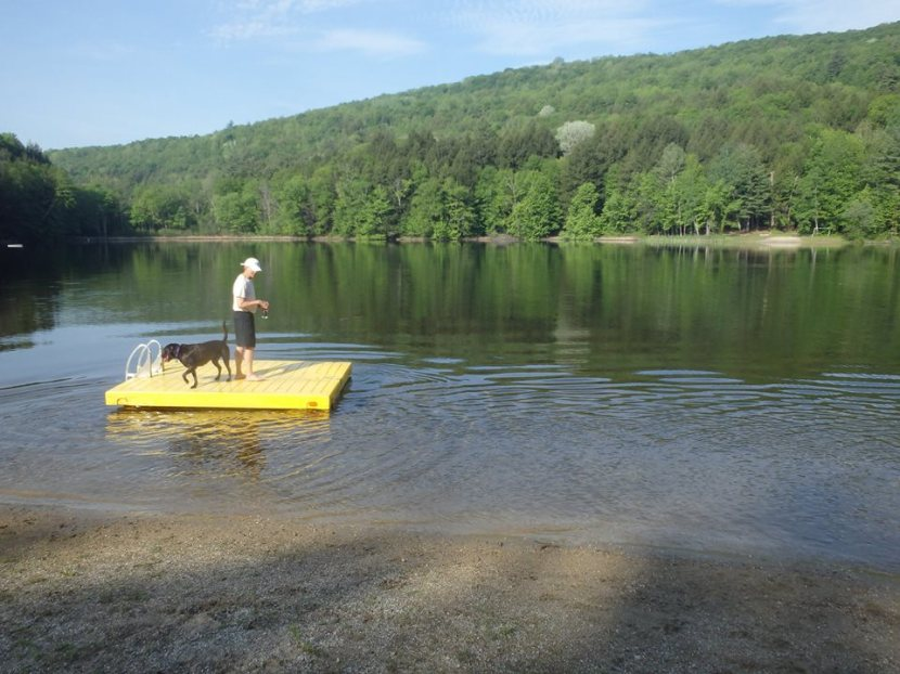 Vermont Spring Swim Tour: ElfinLake